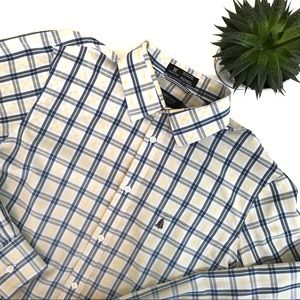 Nordstrom Regular Fit Plaid Button Down
